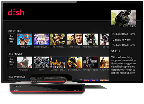 Ondemand TV from DISH | Low Country Communications